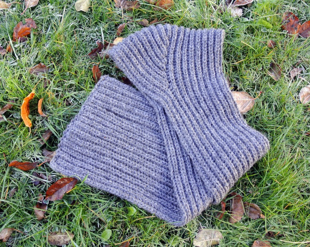 Hooded Brioche Scarf. Test starts November 5, 2012. Deadline December 1st, 2012